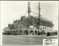 Fox Wilshire, Beverly Hills, construction [2] [1930-03-27]