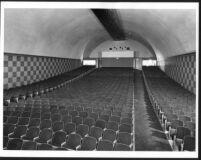 Garmar Theatre, Montebello, auditorium