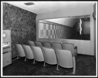 Garmar Theatre, Montebello, crying room