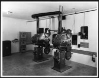 Garmar Theatre, Montebello, projection room