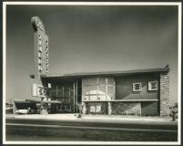 La Tijera Theatre, Los Angeles, exterior, day