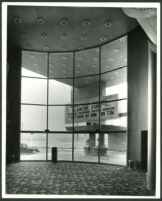 La Tijera Theatre, Los Angeles, foyer, with view out to street