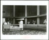 La Tijera Theatre, Los Angeles, foyer, bas relief