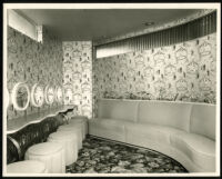 La Tijera Theatre, Los Angeles, ladies' lounge