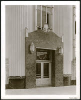 Max Factor Building, make-up studio entrance, exterior