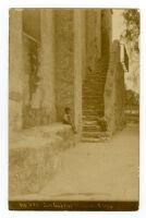 No. 491, San Gabriel Mission Steps.