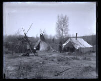 Tent and teepees