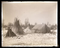 Teepees and tents