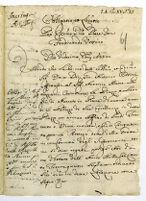Roma 08. Obbligo di Antonio Maria Petrazzani di [scudi] 400 a fav[ore] di D. Ferdinando Orsini