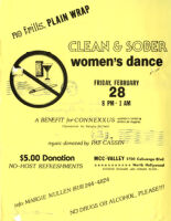 Clean and Sober Women's Dance