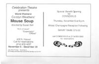 Celebration Theatre presents Mouse Soup, Special Benefit Opening for Connexxus