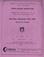 Flyer Announcing Open House Reception for the Centro de Mujeres/Connexxus East