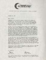 Letter Announcing the Resignation of Del Martinez and Lauren Jardine