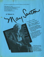 A Tribute to May Sarton