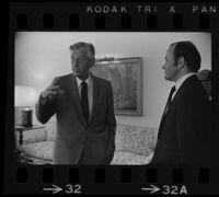 Lew Wasserman and Daniel Ritchie, interviewed by Arelo Sederburg, 1969.