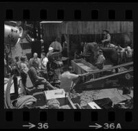 Motion picture being filmed at Universal Studios. D. 1969.