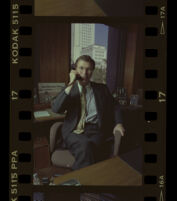 David Laventhol soon after his appointment as publisher of the Los Angeles Times. Los Angeles, 1989
