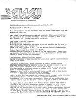 Board of Directors Meeting Minutes - July 26, 1979