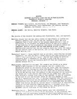 Steering Committee Meeting Minutes - December 16, 1976
