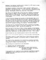 Steering Committee Meeting Minutes - January 12, 1978