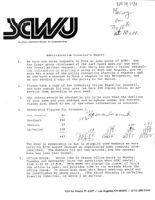 Administrative Director's Report - November 29, 1984