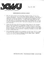 Administrative Director's Report - June 30, 1985