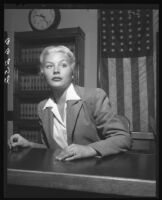 Barbara Payton wins divorce from husband John Payton, Los Angeles, Los Angeles, 1950