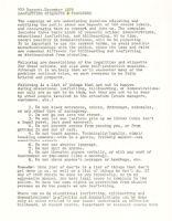 WEA Boycott - Leafletting Etiquette and  Procedure