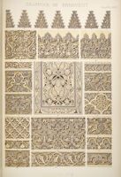 The grammar of ornament, by Owen Jones. Illustrated by examples from various styles of ornament.