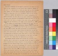 Ralph Bunche on civil rights : interview with Mr. Woody Klein, New York World-Telegram