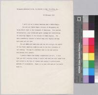 Telegram, 1956 February 22, to Rev. Martin Luther King, Jr.