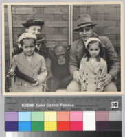 Ralph J. Bunche and family at the zoo