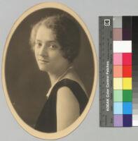 Ruth Bunche, portrait