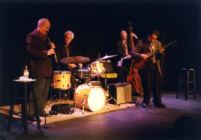 Kenny Davern on clarinet, James Chirillo on guitar, 2002 [descriptive]