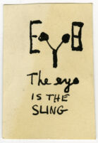 The eye is the sling