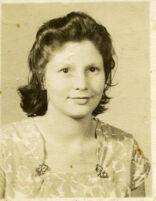 Studio portrait of Mrs. Guardia