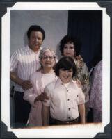 Dad, Grams, Kenny, Mom