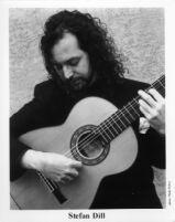 Stefan Dill playing guitar, 1996 [descriptive]