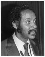 Eric Dixon (tenor saxophonist) in Los Angeles, February 17, 1979 [descriptive]