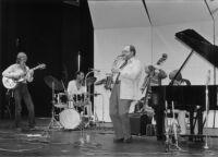 Gary Foster Quintet performing in 1980 [descriptive]