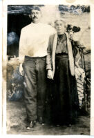 Man and grandmother
