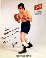 Signed Photograph by Armando Muniz to Sal
