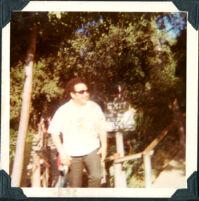 Dad on Tom Sawyers Island