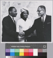 Dr. Martin Luther King, Jr. and Coretta Scott King visit United Nations Headquarters