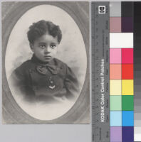 Ralph J. Bunche, portrait at around age 6