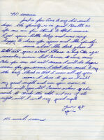 Letter to mama