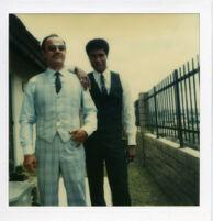 Two men dressed to impress