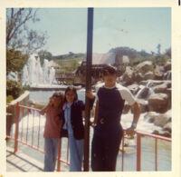 Kids at amusement park