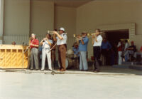 Peanuts Hucko and the West Coast All Stars at Barnsdall Park, 1981 [descriptive]
