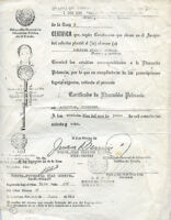 Copy of certificate of education